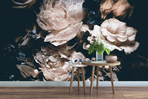 3D Flower 3 Self-adhesive Removable Wallpaper Wall Mural Sticker 323