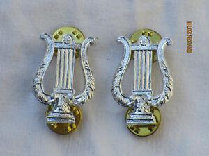 British-Army-School-of-Music-Collar-Badges-Anodised-Aluminium-Staybright