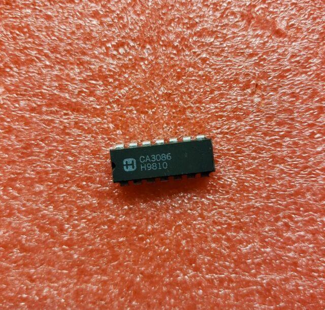 Ca3086 Harris NPN Transistor Array dip14