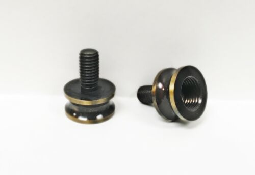LAMP FINIAL ADAPTER**AGED BRASS**Solid Brass 1-PC.