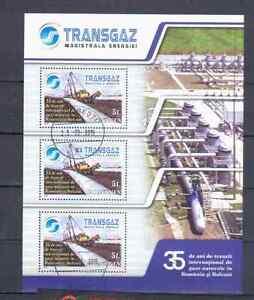 RUMANIEN-KL-2009-TRANSGAZ-GESTEMPELT
