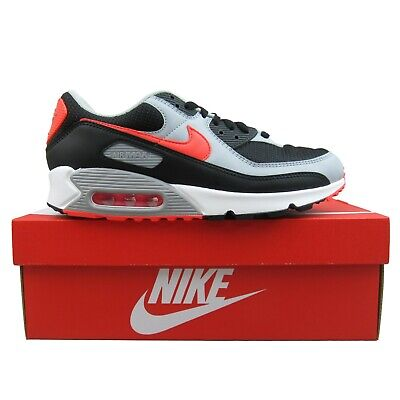 Nike Air Max 90 Mens Size 8.5 Athletic Shoes Black Radiant Red NEW ...