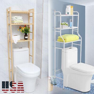 Over The Toilet Bath Bathroom Space Saver Storage Cabinet