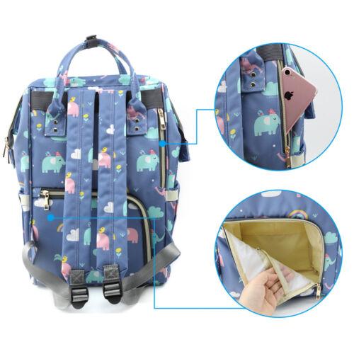 Genuine LAND Mummy Diaper Bag Maternity Backpack Shoulder Bag US STOCK