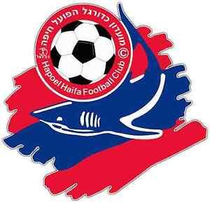 """Hapoel Haifa FC Israel Football Soccer Car Bumper Sticker Decal 4.6/""""X4.6/"""""""