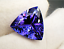 High-quality-AAAAA-LOOSE-GEMSTONE-UNHEATED-BLUE-COLOR-TANZANITE-12mm-TRIANGLE thumbnail 3