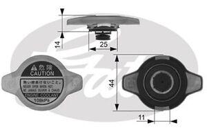 GATES-Tapa-radiador-HONDA-CIVIC-MITSUBISHI-MONTERO-NISSAN-SUZUKI-MAZDA-RC134