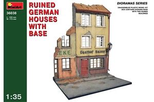 Miniart 36038 1/35 German Gasthof With Base