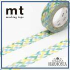 mt Masking Tape Japanese High Quality Washi Tape 15mmx10m SLASH GREEN