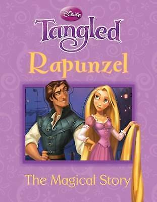 """AS NEW"" Parragon Books Ltd, Disney Magical Story: Rapunzel (Disney Tangled) Boo"