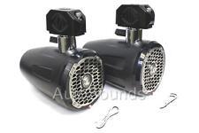 "Rockford Fosgate M262B-WAKE 300 Watt 6.5"" Marine Wakeboard Tower Speakers 6-1/2"""