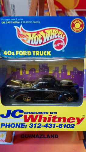 9982 Hot Wheels JC Whitney /'40s Ford Truck Limited Edition noire