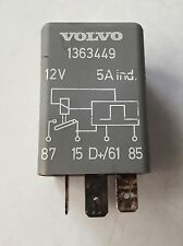 1989 Volvo 240DL 2.3L Fuse Air Conditioner A/C Relay #1363449