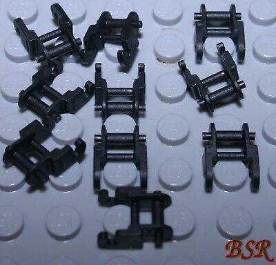 50 Largeur noire Chaînes maillons 3873