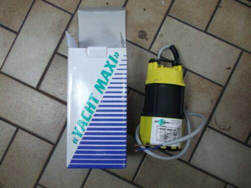 YACHT SUBMERSIBLE WATER PUMP 24 VOLT DC BILGE PUMP MAXI