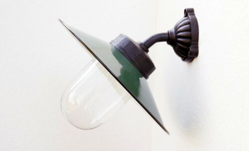 Kleine Außenleuchte Hoflampe Wandlampe Gartenlampe Außenlampe Modell Winkl