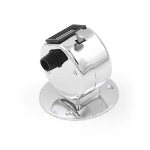 4-stelliger manueller Handzähler Mechanisch Palm Click Counter Round Base WHCRH