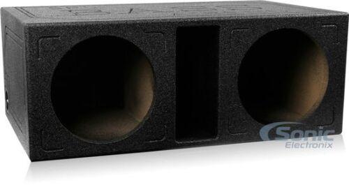 "Atrend SPL-12DV Dual 12/"" SPL Series Vented//Ported Subwoofer Enclosure Box"
