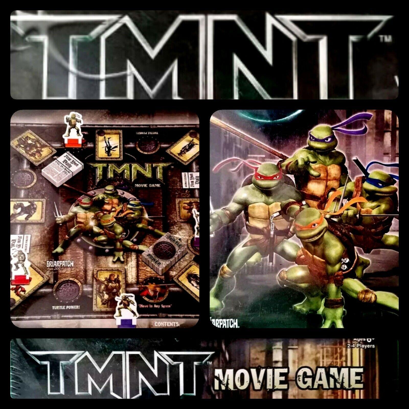 Tmnt Movie Board Game Teenage Mutant Ninja Turtles 2007 Cowabunga