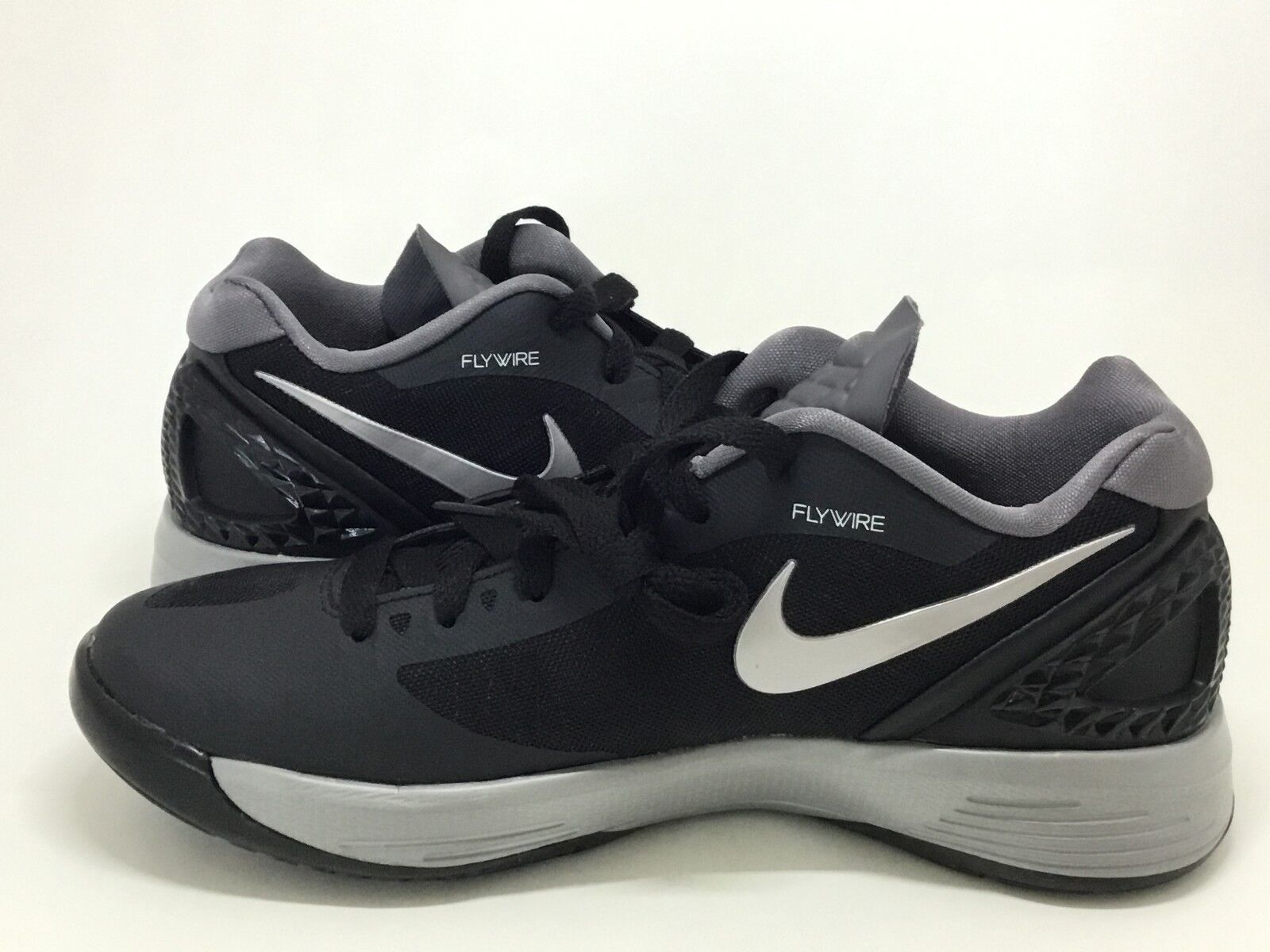 Nike Women's Women's Women's Volley Zoom Hyperspike Size 5 Black Metallic Silver  585763-001 NEW d91450