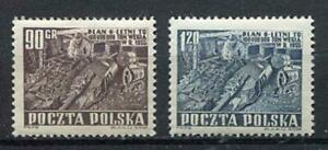 35607) Poland 1951 MNH New Mining Industry 2v