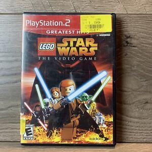 Lego-Star-Wars-Das-Videospiel-Playstation-2-2005-ps2-CIB-komplett-in-Box
