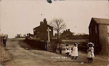 Failsworth, Oldham area. Cutler Hill by HP. Sign-Post to Failsworth.