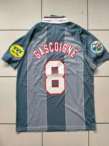 GASCOIGNE 8# England Euro 96 1996 FOOTBALL Shirt GAZZA TOTTENHAM SIZE MEDIUM
