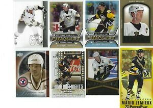 MARIO-LEMIEUX-10-different-Hockey-cards-LOT-Pittsburgh-Penguins-L-k