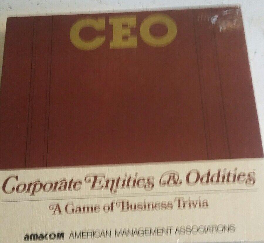 Neuf Scellé vintage PDG-Corporate entités & bizarreries Board Game