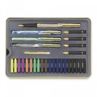 Staedtler Calligraphy Pen Set 33 Pieces W Practical Step Paperback COLORS New Craft Supplies
