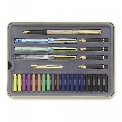 Staedtler Calligraphy Pen Set, 33 Pieces, Student Drawing Painting, New