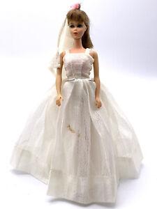 Vintage 1966 Mattel Twist n Turn Barbie-BrunetteJapan Doll Eye Lashes