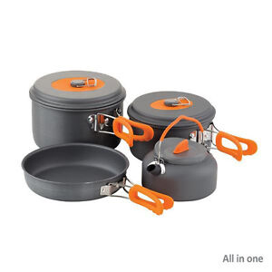 Chub Cook Sets / 3 Piece / All In One / Accessories / Fishing