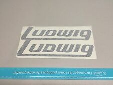 Ludwig Drum Stickers Music instrument vinyl decal Set (2) 8.5""