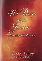 40 Days With Jesus: Celebrating His Presence By Sarah Young, (paperback), Thomas on sale