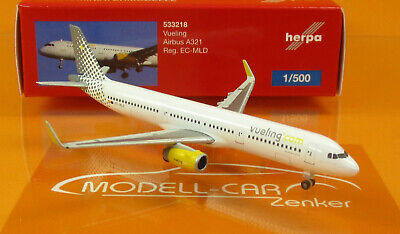 Herpa Wings 1:500 Herpa Wings  533218 Herpa Wings 1/_500 Vueling Airbus A321