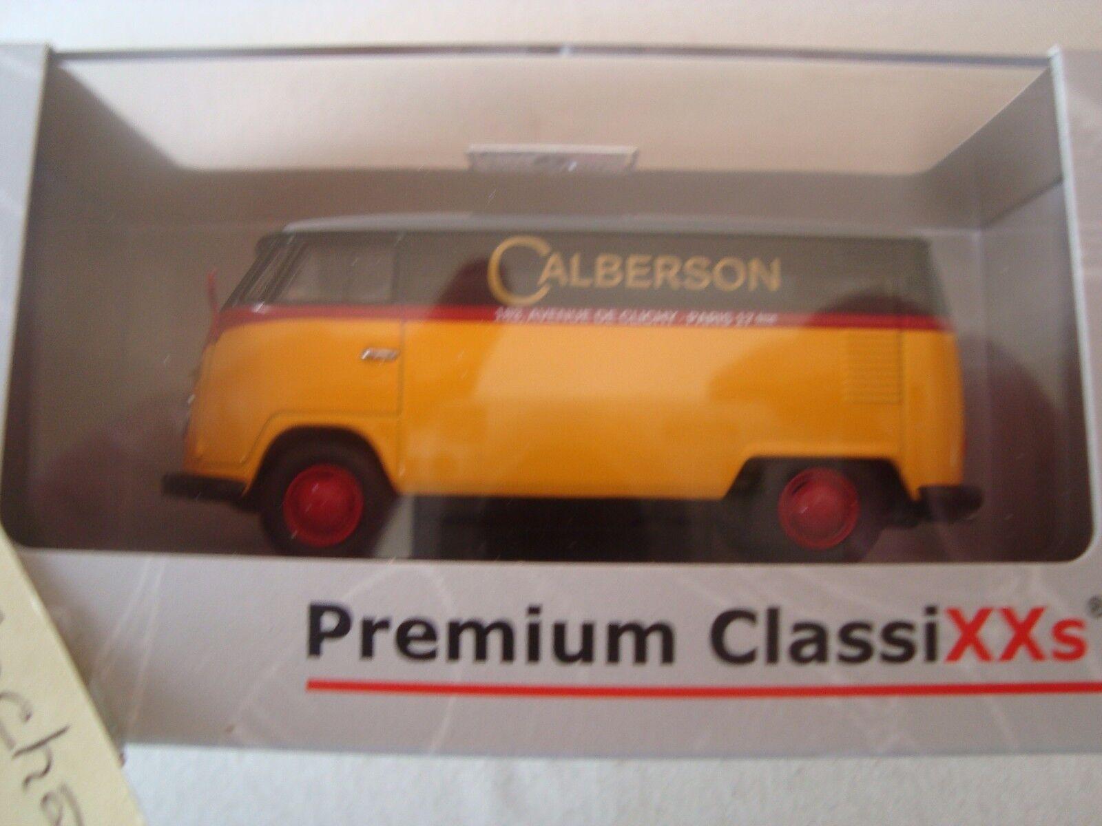 VW TRANSPORTER T1 CALBERSON PARIS PREMIUM CLASSIXXS VAN   WAGON SHEET NO. 13803