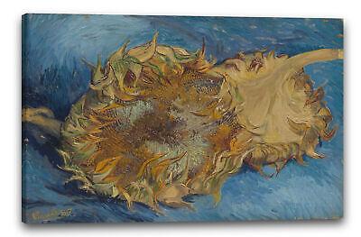 120x80cm Vincent Van Gogh #88710 12 Sonnenblumen Vase Poster Leinwand-Druck