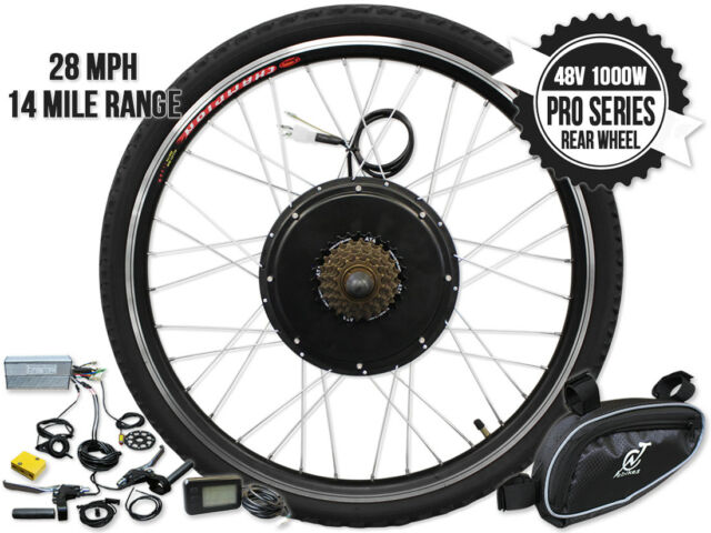 Frequently Bought Together Gigabyke 26 Inch 48v 1000w Pro Series 7 Sd Rear Wheel Electric Bike Kit