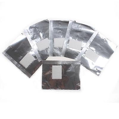 50 pcs aluminium foil nail art soakoff uv gel polish
