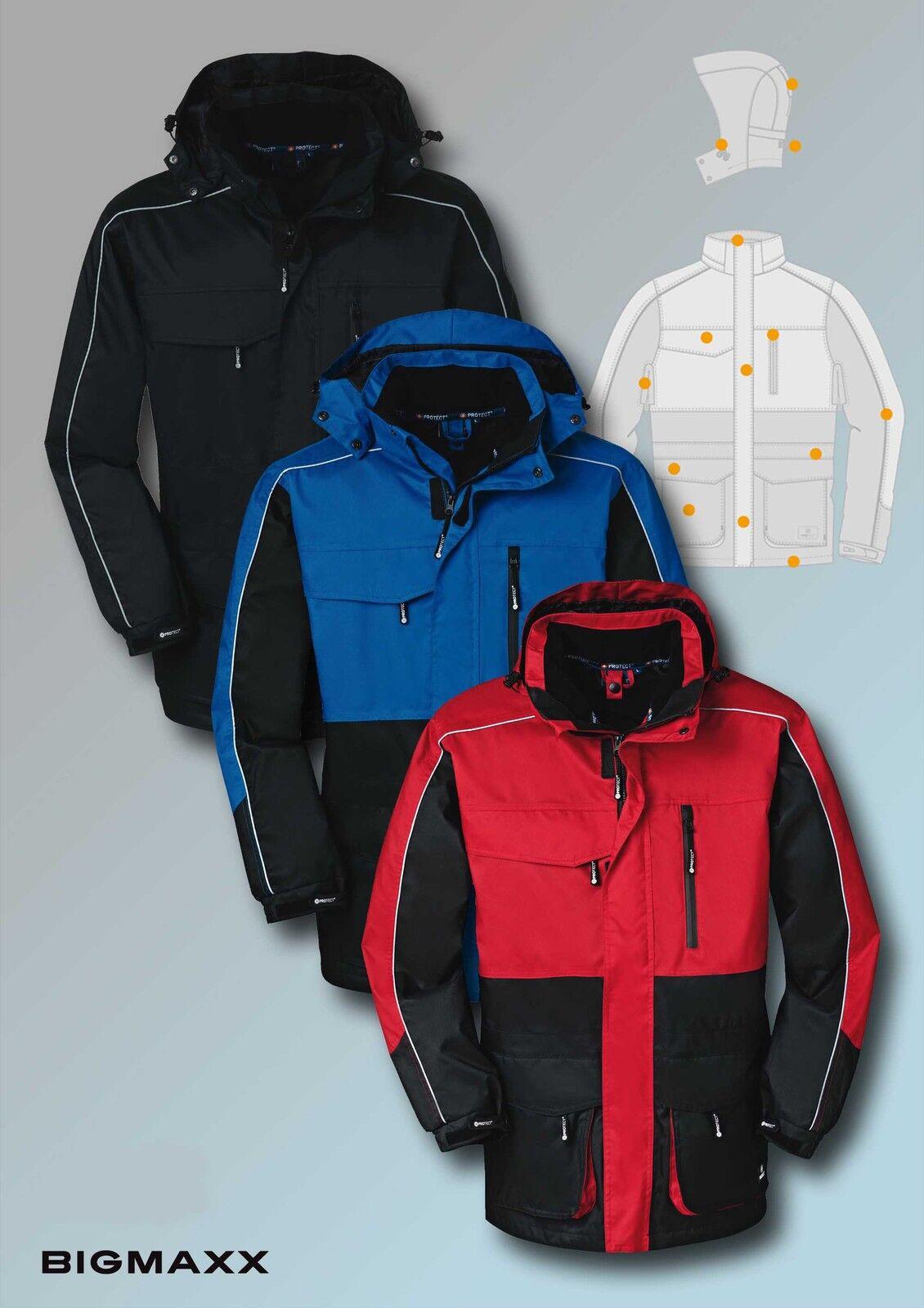 4PROtect Wetterschutzjacke DENVER Outdoorjacke Arbeitsjacke 3 Farben S bis 3XL