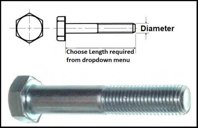 Pack of 50 M5 x 10mm Flanged Hexagon Bolts Zinc Plated Hex Screws #8B113
