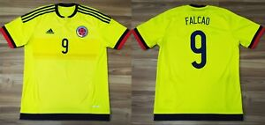 b079ac223d3 SIZE M COLOMBIA NATIONAL TEAM 2015/2016/2017 HOME JERSEY SHIRT ...