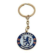 Chelsea FC Official Metal Crest Keyring Brand New