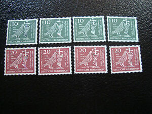 GERMANIA-rfg-francobollo-yvert-e-tellier-n-203-204-X4-n-A6-stamp