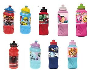 Ergo-Kids-Sports-Bottle-Water-Drinking-Lunchbox-School-Travelling-Picnic-Camping