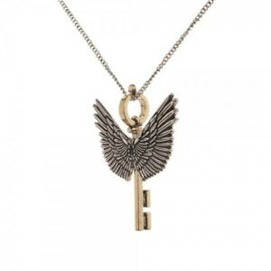 Harry potter flying key necklace pendant winged key with wings image is loading harry potter flying key necklace pendant winged key mozeypictures Choice Image