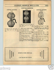 Image Is Loading 1936 Paper Ad Silex Capex Gl Coffee Maker
