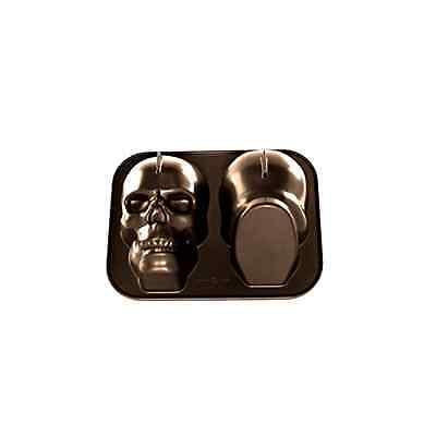 Nordic Ware Haunted Spooky Grinning Skull Pan Halloween